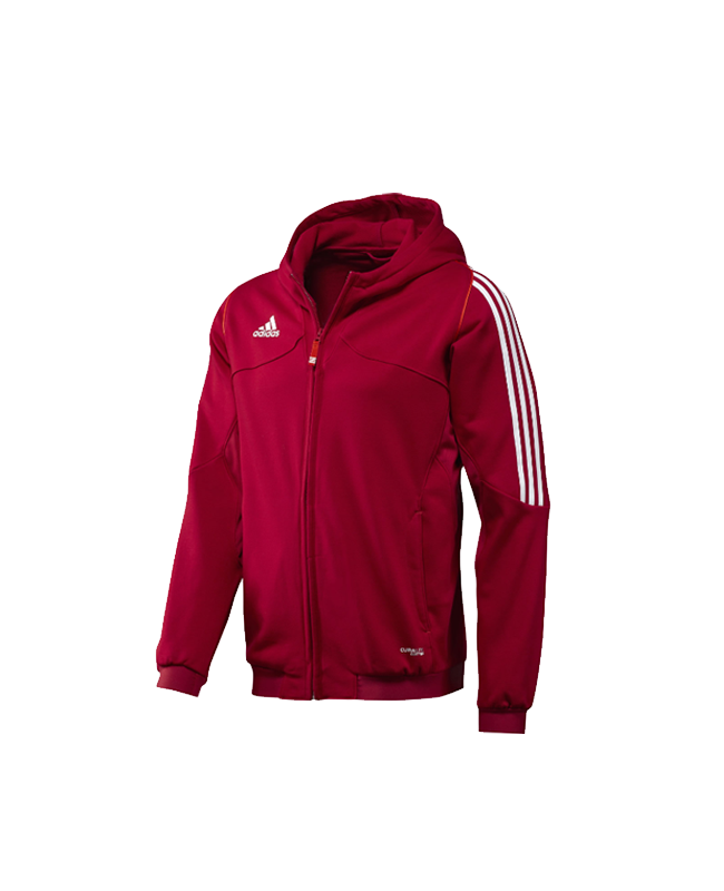 adidas T12 Team Hoodie Youth Gr.140 rot S adiX34272 140cm