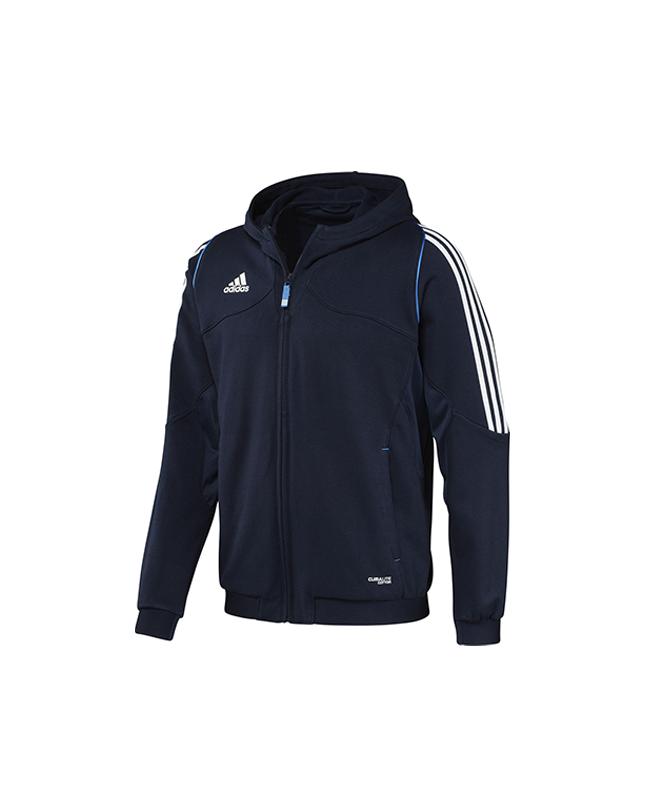 adidas T12 Team Hoodie Youth blau adiX34273