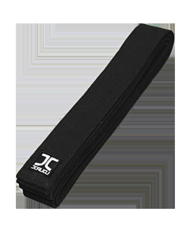 JC Dan Schwarzgurt Prämium extrabreit 5cm schwarz JC 7001 300 cm