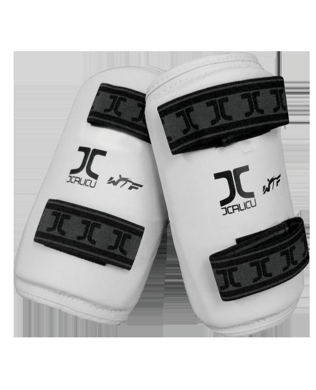 JCALICU Unterarmschutz XL weiss WTF approved JC1005 XL