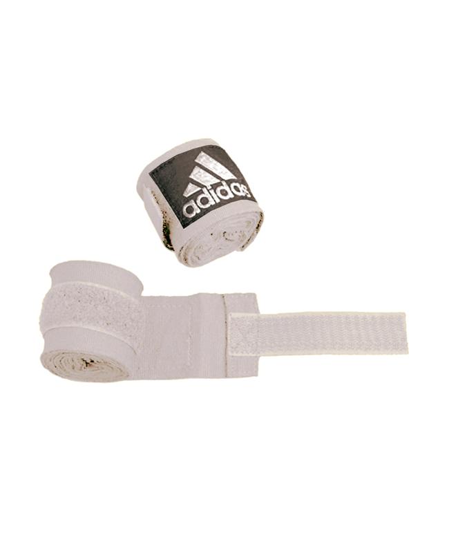 adidas ADIBP03 - Boxbandagen elastic Farbe weiß, Breite 5 cm