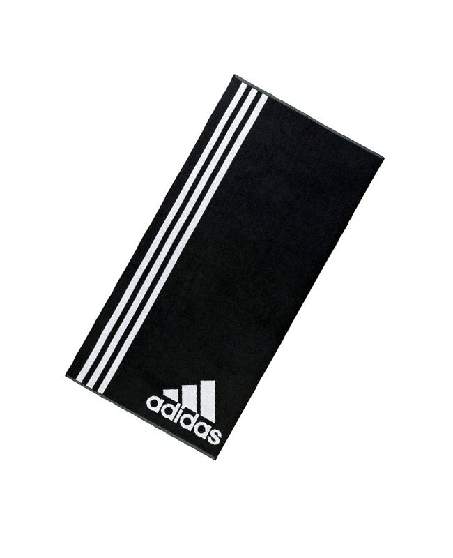 adidas aktive Towel  L Handtuch groß ca. 70 cm x 140 cm schwarz AB8008