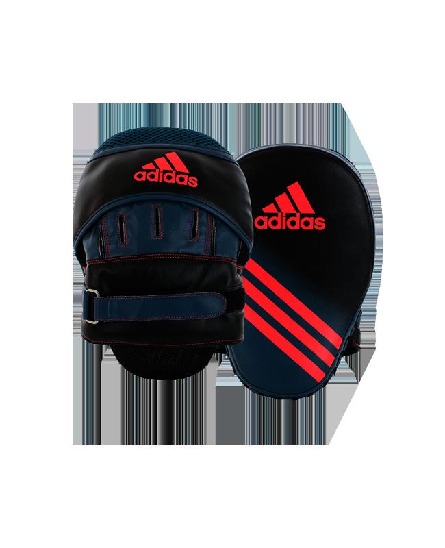 adidas Speed Woman Focus mitt short Curved schwarz/rot standard ADIBACMW01