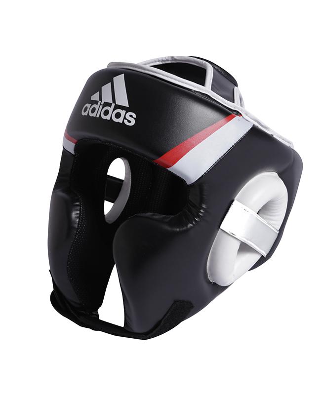 adidas Kopfschutz Training, schwarz/rot/weiß adiBHG022 M