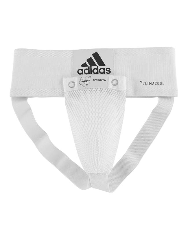adidas Tiefschutz WKF weiß/schwarz S Climacool 662.10 adiBP06 S