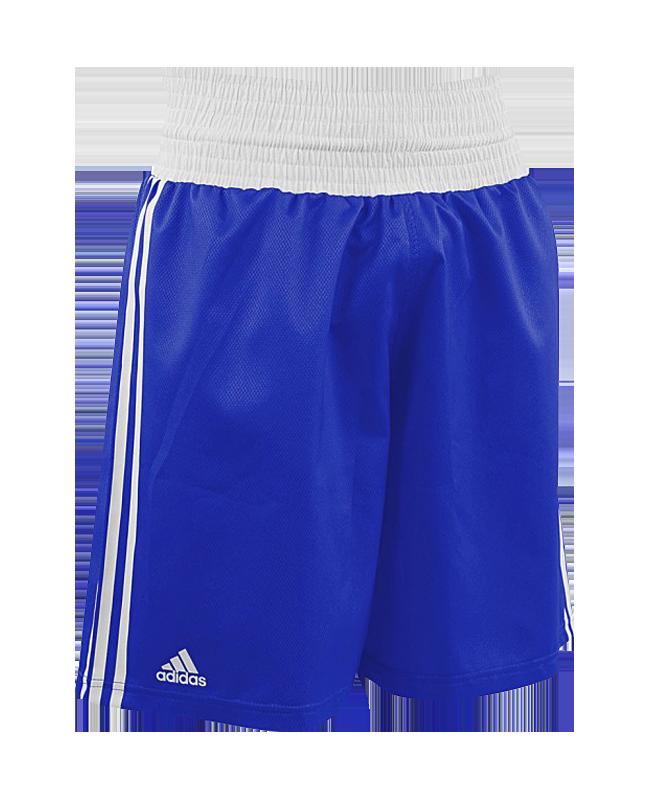 adidas Boxing Shorts Punch Line blau weiss ADIBTS02