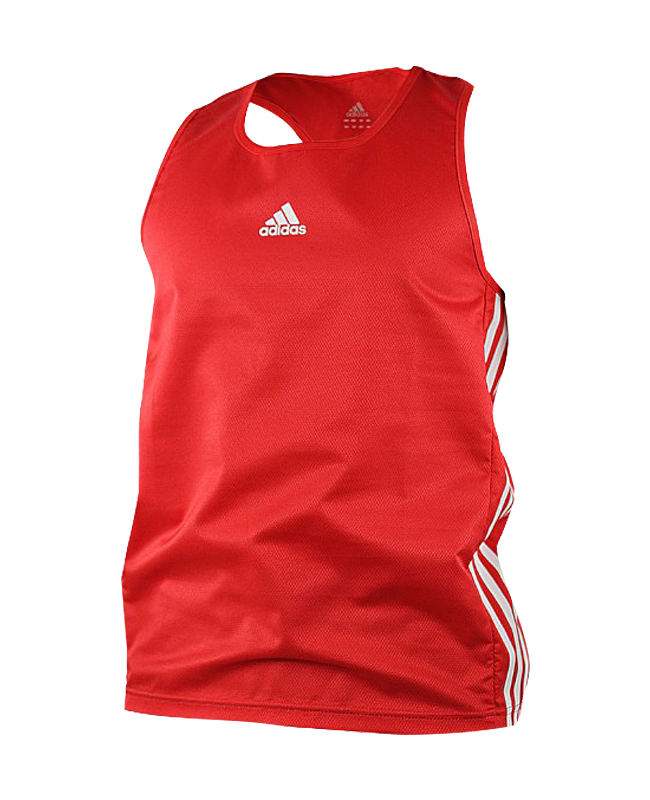 adidas Boxing Top Punch Line rot weiss size XL ADIBTT02 XL