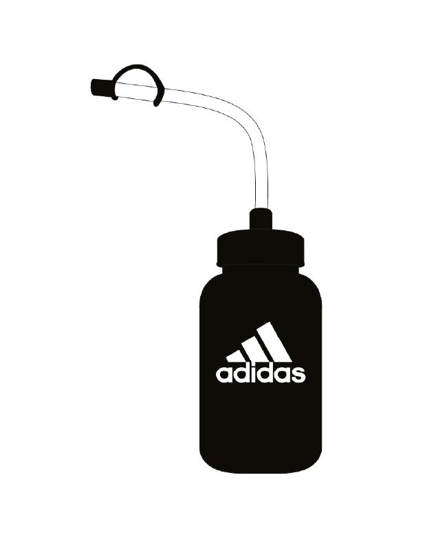 adidas Water Bottle schwarz 1 Liter  ADIBWB01