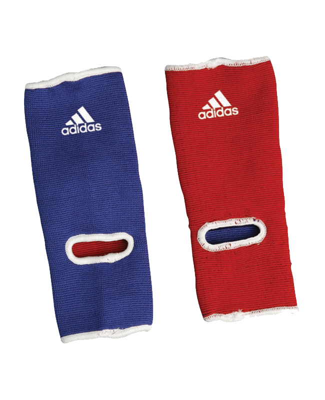 adidas Ankle Pad Knöchelschoner Reversible rot/blau, Fußgelenkstütze onesize ADICHT01