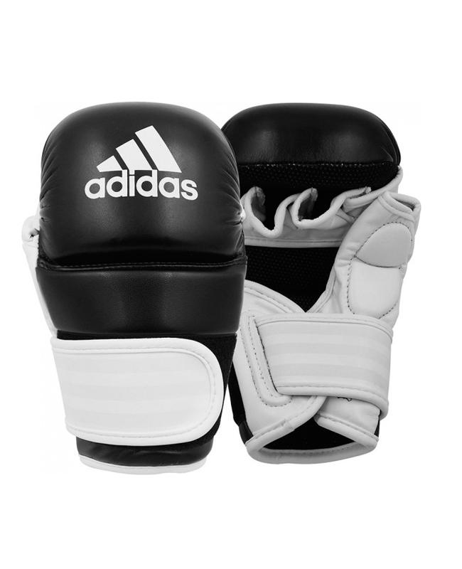 adidas Training Grappling Glove schwarz weiss size L ADICSG061 L