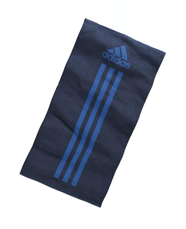 adidas aktive Towel Handtuch groß ca. 140x72cm blau  Z34329