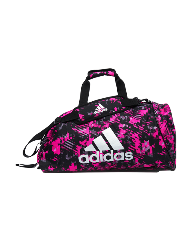 adidas Sporttasche Rucksack 2 in 1Bag size M pink/silber camo ADIACC058MA M