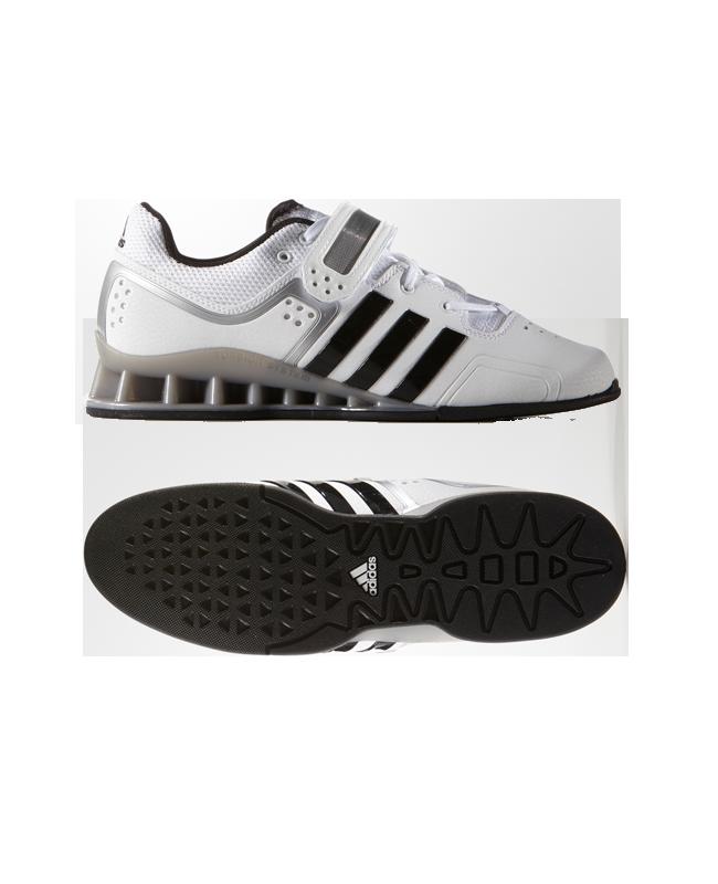 Adidas adiPower Gewichtheberschuhe weiß M25733 EU41 1/3 UK7.5