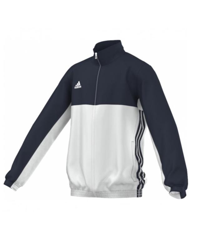 adidas T16 Team JKT YOUTH Jacke blau/weiss AJ5323 M
