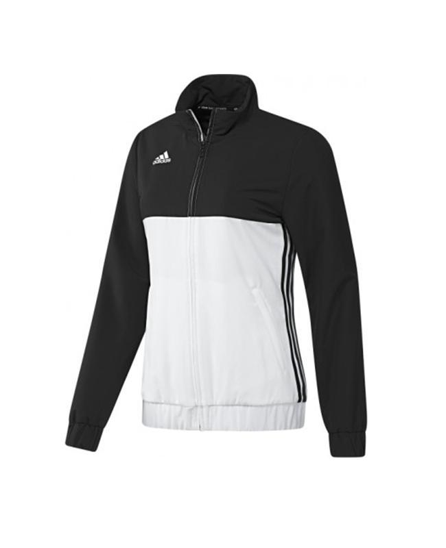 adidas T16 Team JKT WOMEN Jacke schwarz/weiss AJ5326 XS