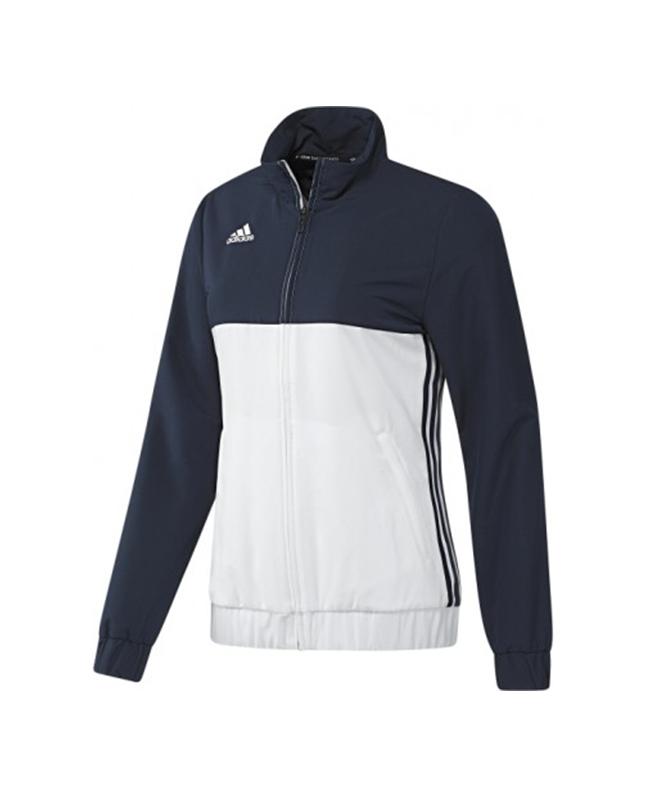 adidas T16 Team JKT WOMEN Jacke XL blau/weiss AJ5327 XL