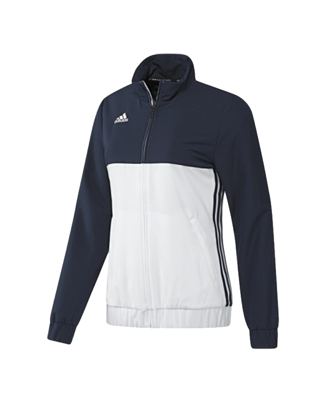 adidas T16 Team JKT WOMEN Jacke blau/weiss AJ5327