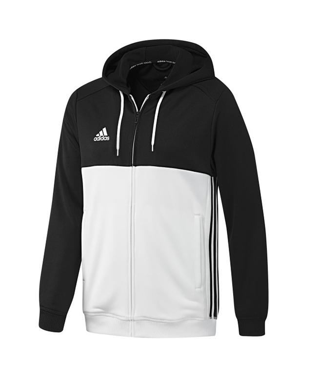 adidas T16 Hoody MEN schwarz/weiss AJ5409 XS