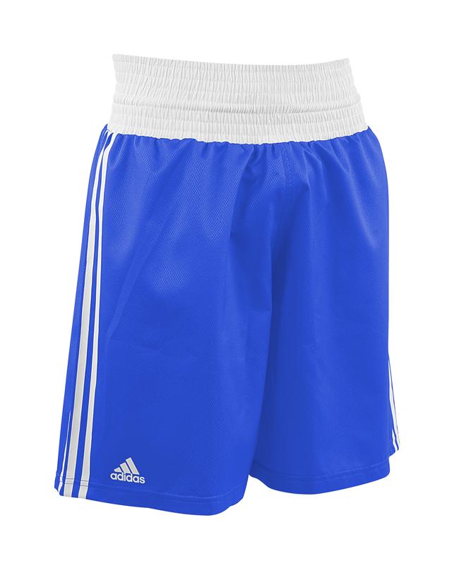adidas Amateur Boxing Shorts blau weiß adiBTS01
