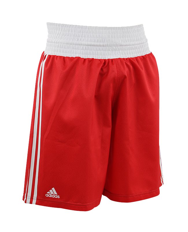 adidas Amateur Boxing Shorts rot weiß adiBTS01