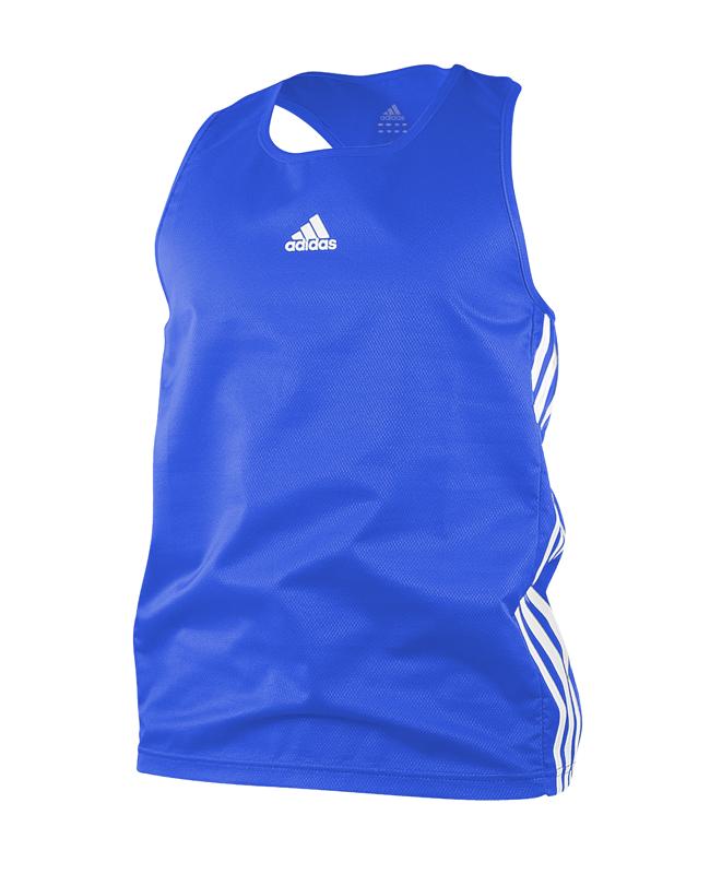 adidas Amateur Boxing Top Gr. L blau adiBTT01 L