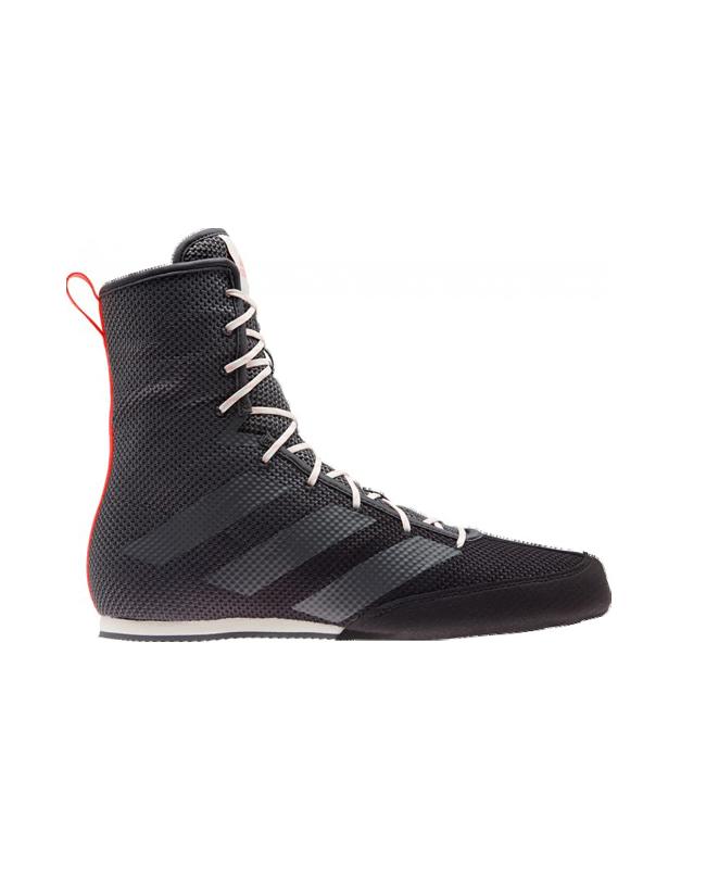 adidas Box Hog 3 Boxerschuhe EU 42 2/3 UK 8.5 schwarz/grau EU42 2/3 UK8.5