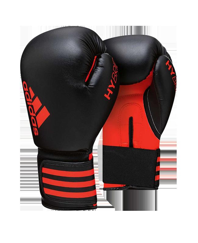 adidas Boxhandschuhe Hybrid 50 schwarz/rot ADIH50