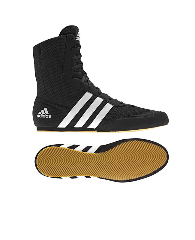 adidas Box Hog 2 Boxerschuhe EU44 2/3 UK10 schwarz adiG97067 EU44 2/3 UK10