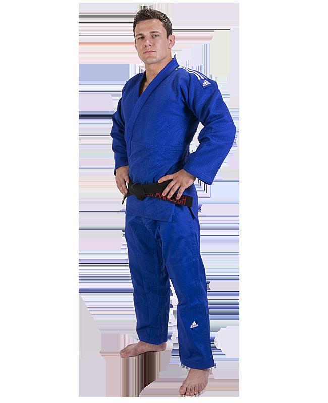 adidas Champion 2 II IJF, Judo Anzug blau 175cm 175cm