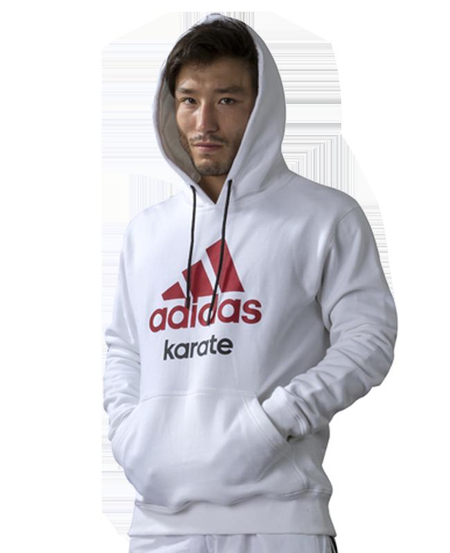 adidas Community Hoodie Karate weiß S adi S