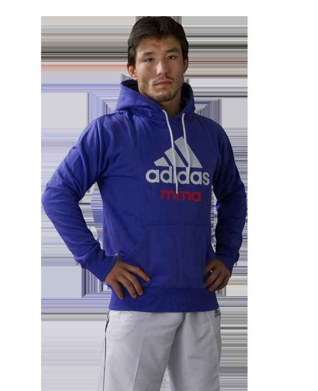 adidas Community Hoodie MMA blau  L L