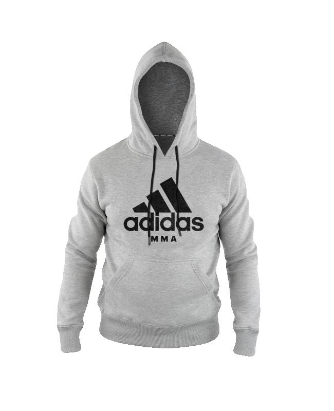 adidas Community Hoodie MMA grau size XXL ADICHMMA XXL
