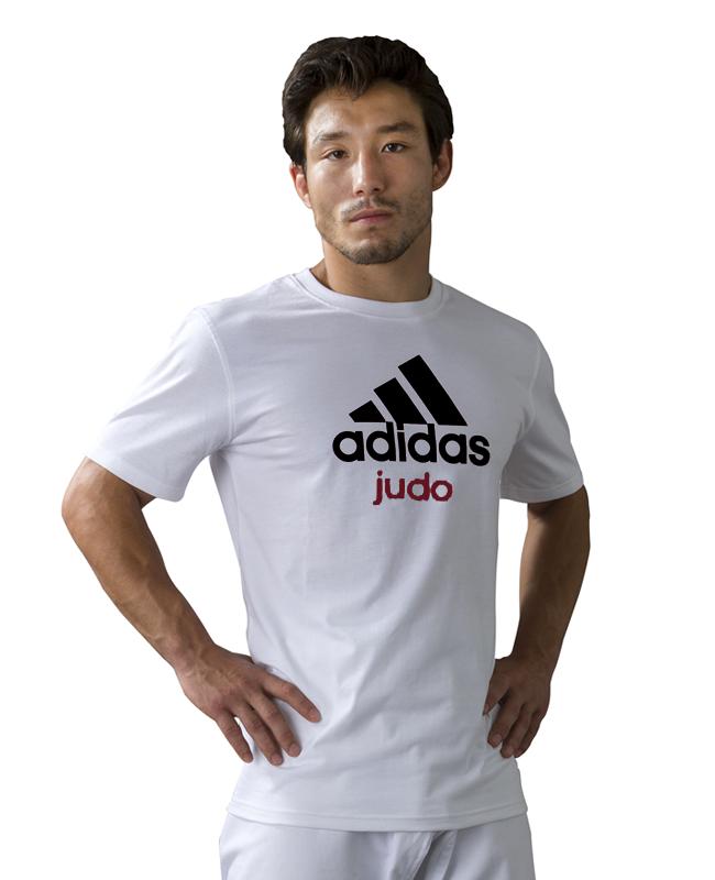 adidas Community T-Shirt Judo weiß  XL XL