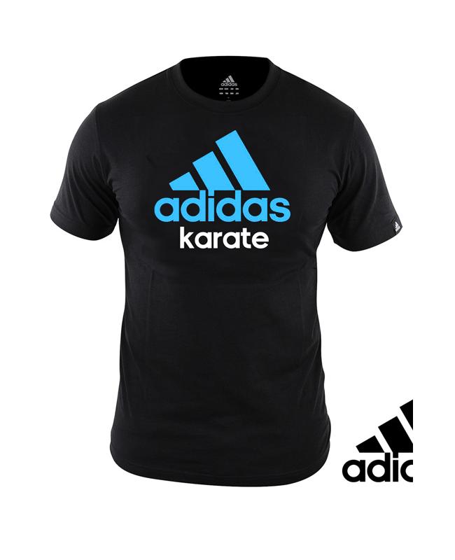 adidas Community T-Shirt Karate schwarz/blau adiCTK XL