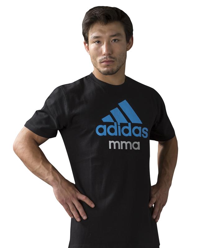 adidas Community T-Shirt MMA schwarz