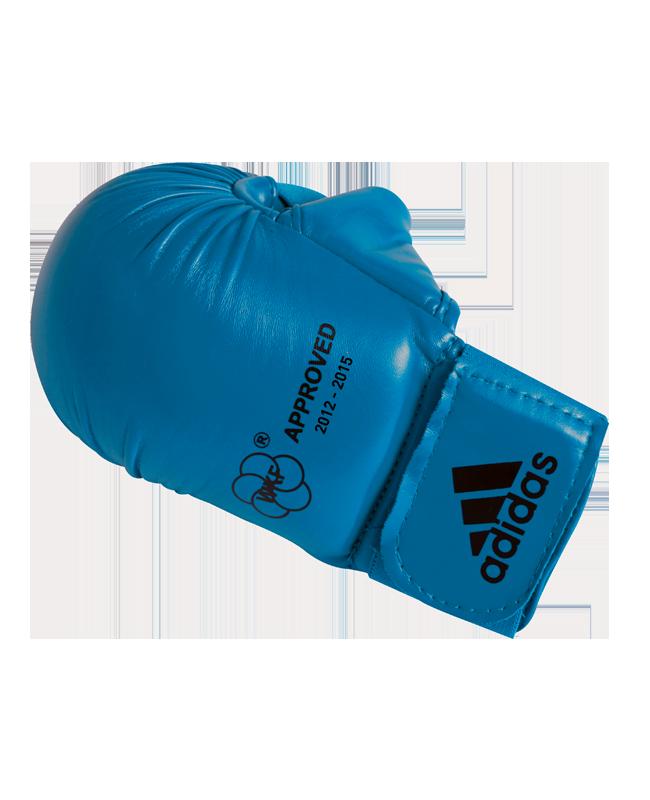 adidas Karate Faustschutz WKF + Daumen blau 661.23
