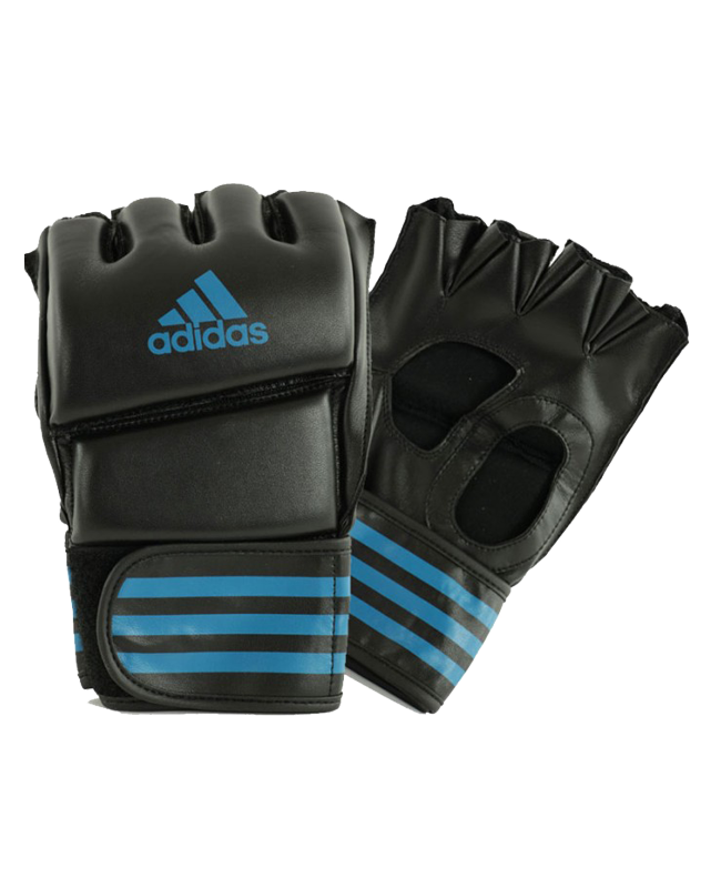 adidas Grappling Training Glove schwarz/solar blue adiCSG08 XL