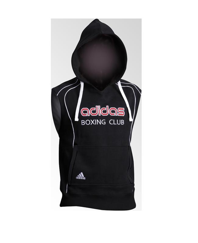 adidas Sleeveless Hoodie Boxing Club schwarz adiTB081