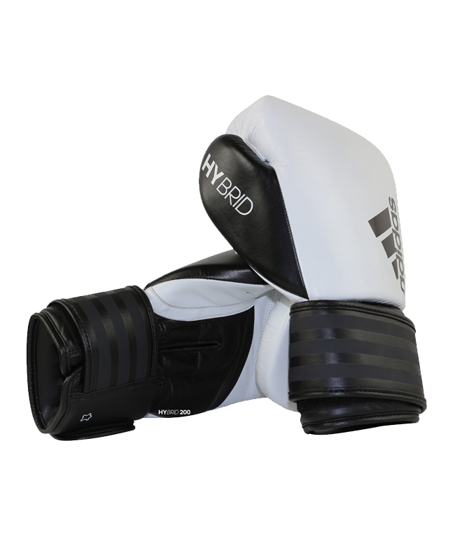 adidas Hybrid 200 Boxhandschuhe weiß/schwarz adiH200