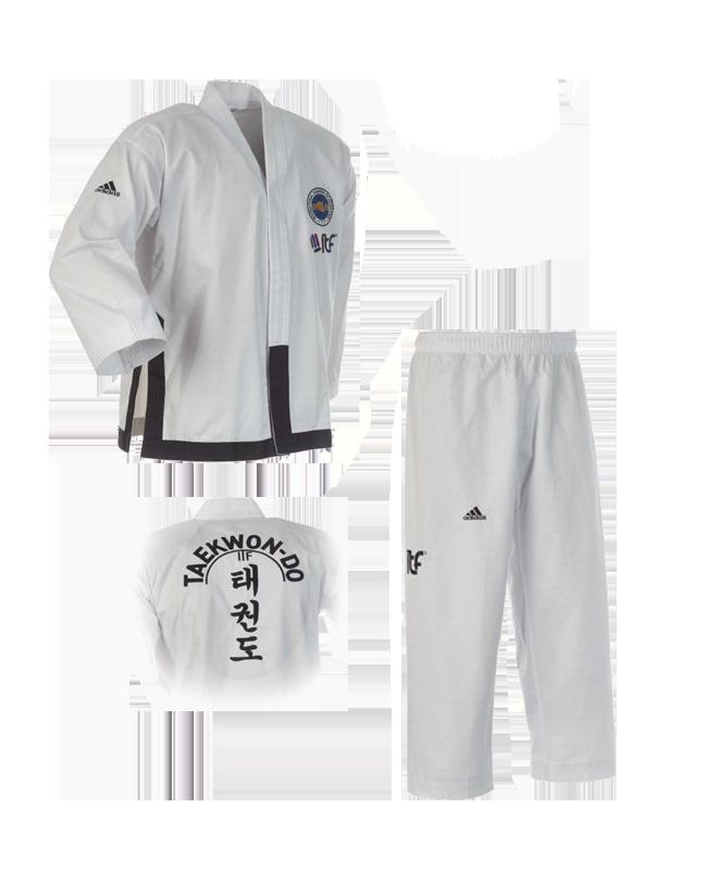 adidas ITF TAEKWONDO Anzug Black Belt Champion ADITITF02