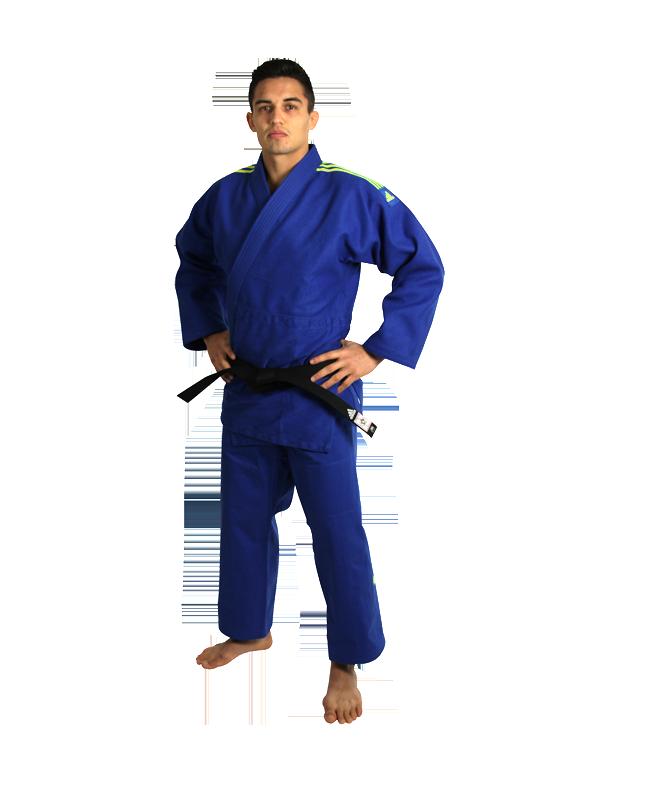 adidas Quest J690 Judoanzug 150 cm blau 150