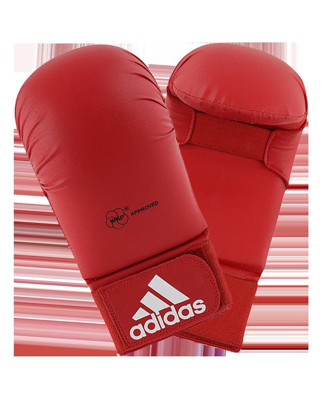 adidas Karate Faustschutz WKF, rot M