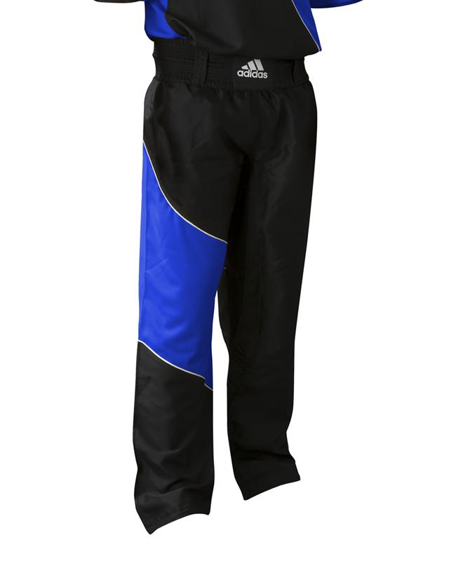 Adidas Kick Boxing Pants adiTU010T Gr. 180 schwarz/ blau 180cm