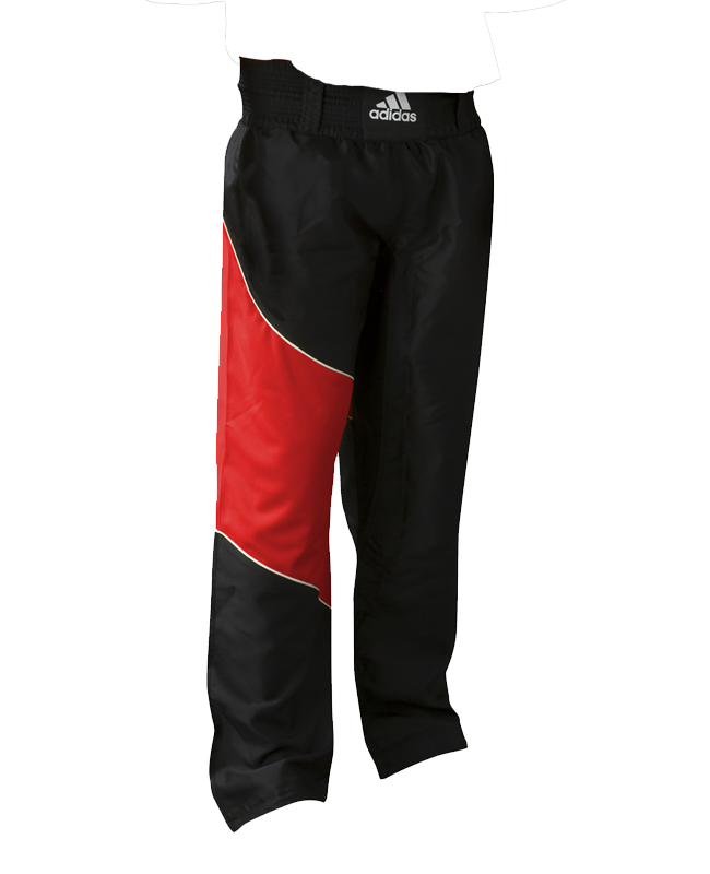 Adidas Kick Boxing Pants adiTU010T Gr. 160 schwarz/ rot 160cm