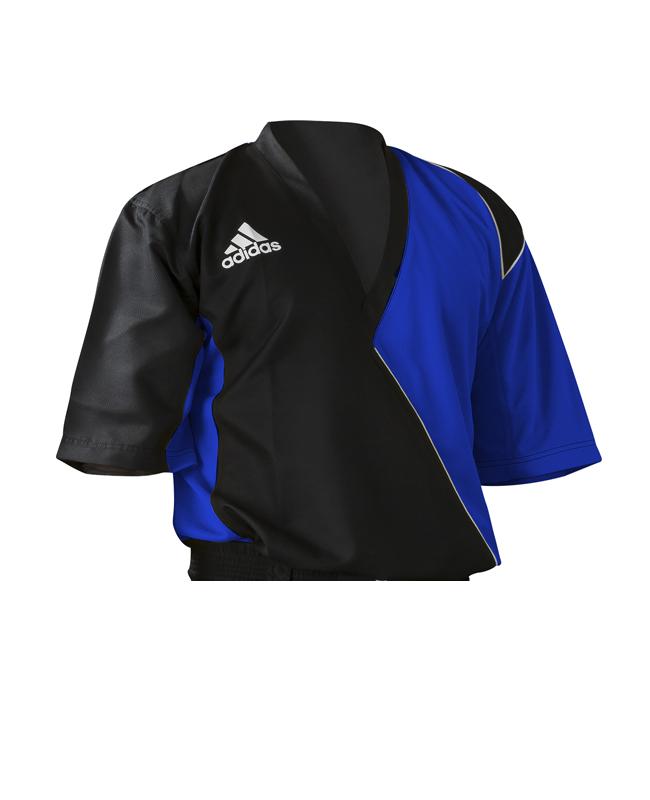 Adidas Kick Boxing Top adiTU010 Gr. 170 schwarz/ blau 170cm