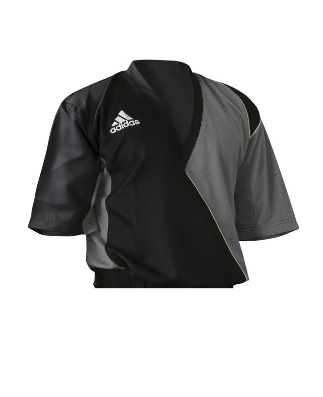 Adidas Kick Boxing Top adiTU010 schwarz/ grau