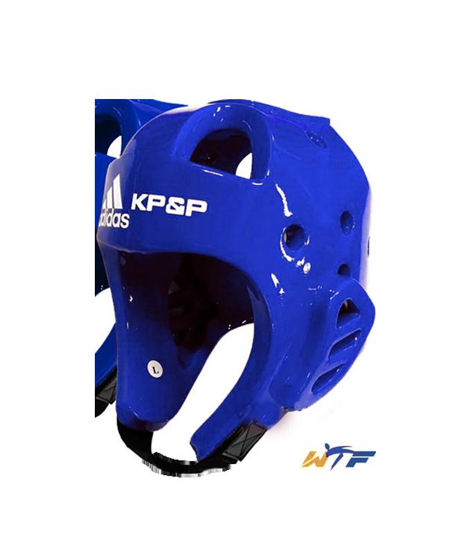adidas KP&P elektr.Kopfschutz E-Head Gear L blau mit Transmitter WTF approved L