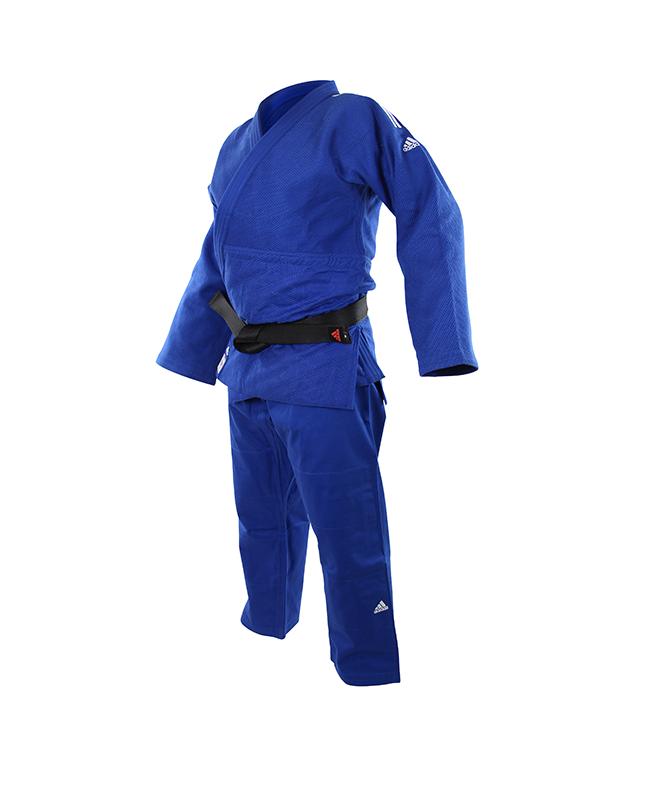 adidas Champion 2 II IJF, Judo Anzug blau 175cm
