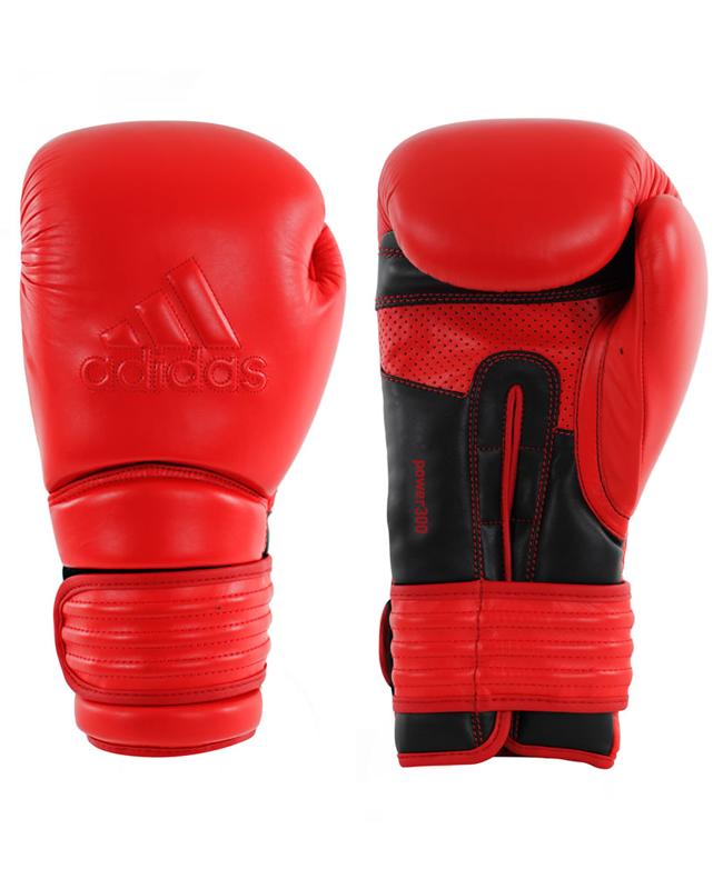 adidas Boxhandschuhe Power 300 rot/schwarz adiPBG300