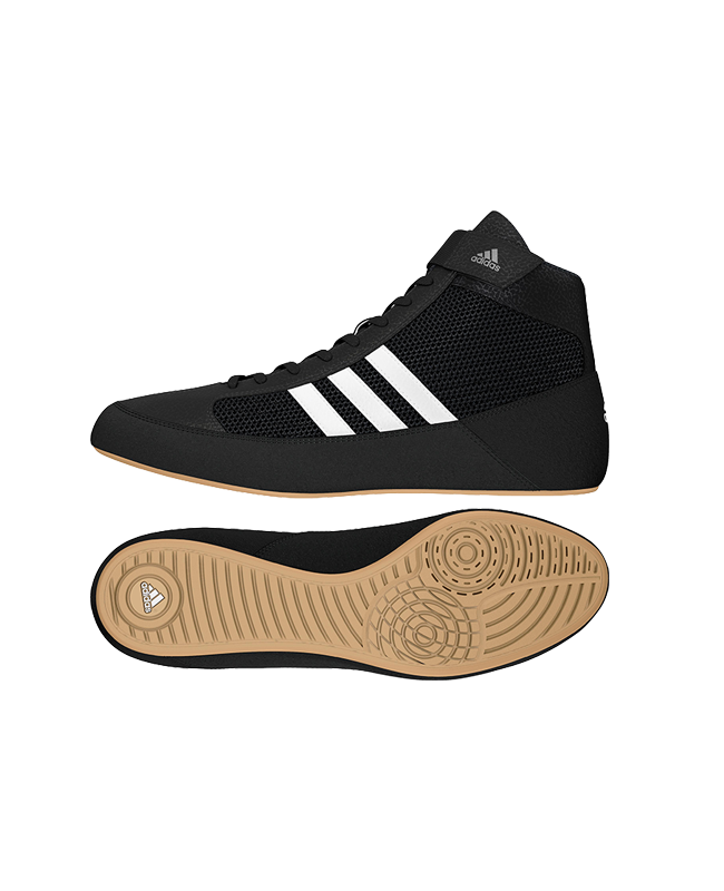 adidas Ringerschuhe Havoc schwarz/gum Gr. 43 1/3 UK9 AQ3325 UK9